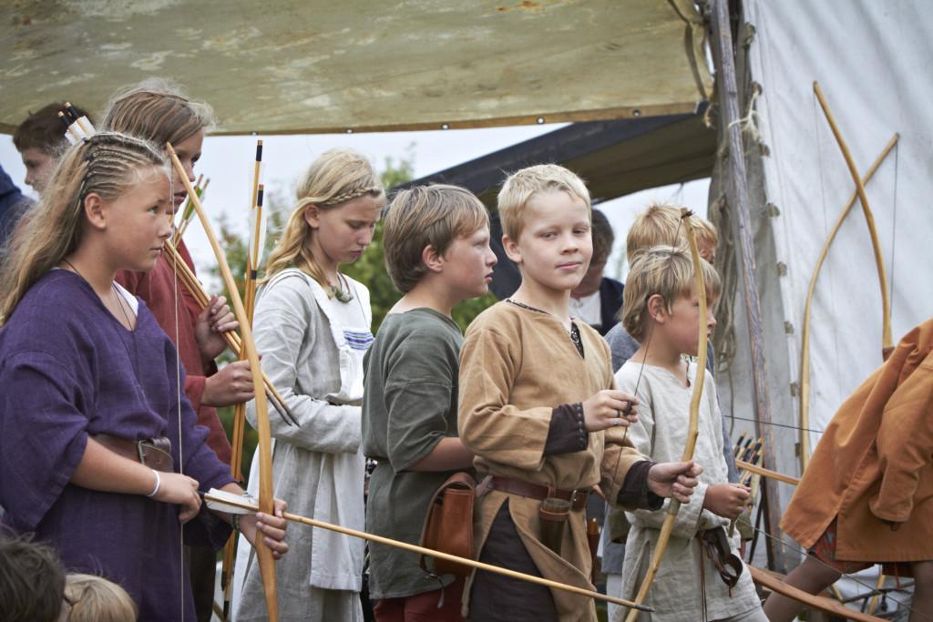 Hamburgsund Vikingabarn Vikingaspelet