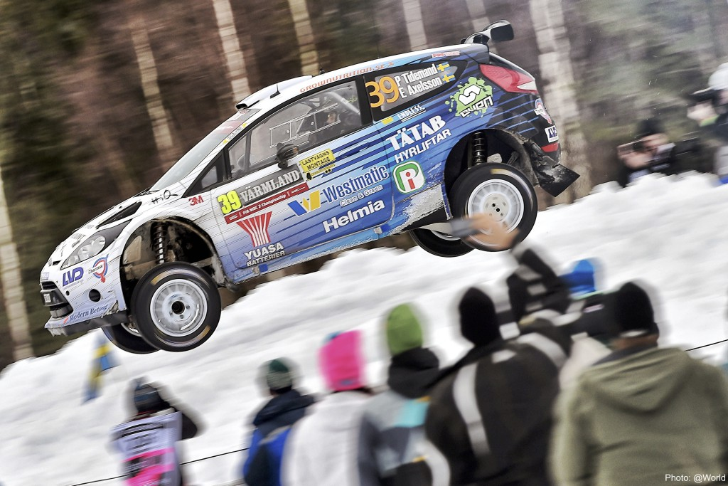 FIA WORLD RALLY CHAMPIONSHIP 2015 -WRC Rally Sweden (SWE) -  WRC 12/02/2015 to 15/02/2015 - PHOTO :  @tWorld